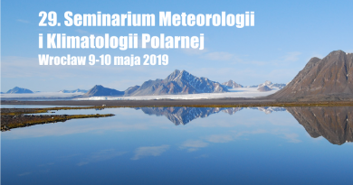 29. Seminarium Meteorologii i Klimatologii Polarnej