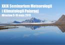 XXIX Seminarium Meteorologii i Klimatologii Polarnej – Książka abstraktów